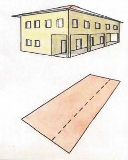 Rappresentazione in mappa di portici, tettoie e pensiline ...
